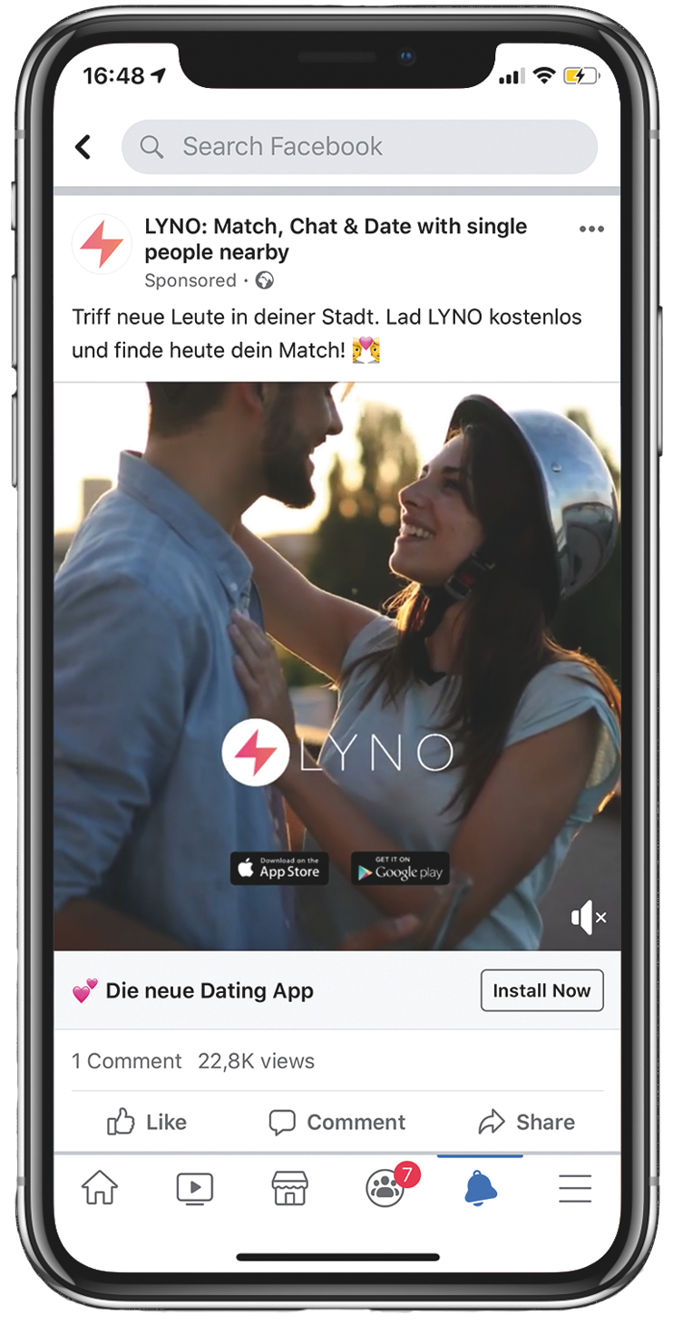 LYNO - DATING APP REPLUG